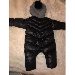 Baby snow suit or baby puffy coat
